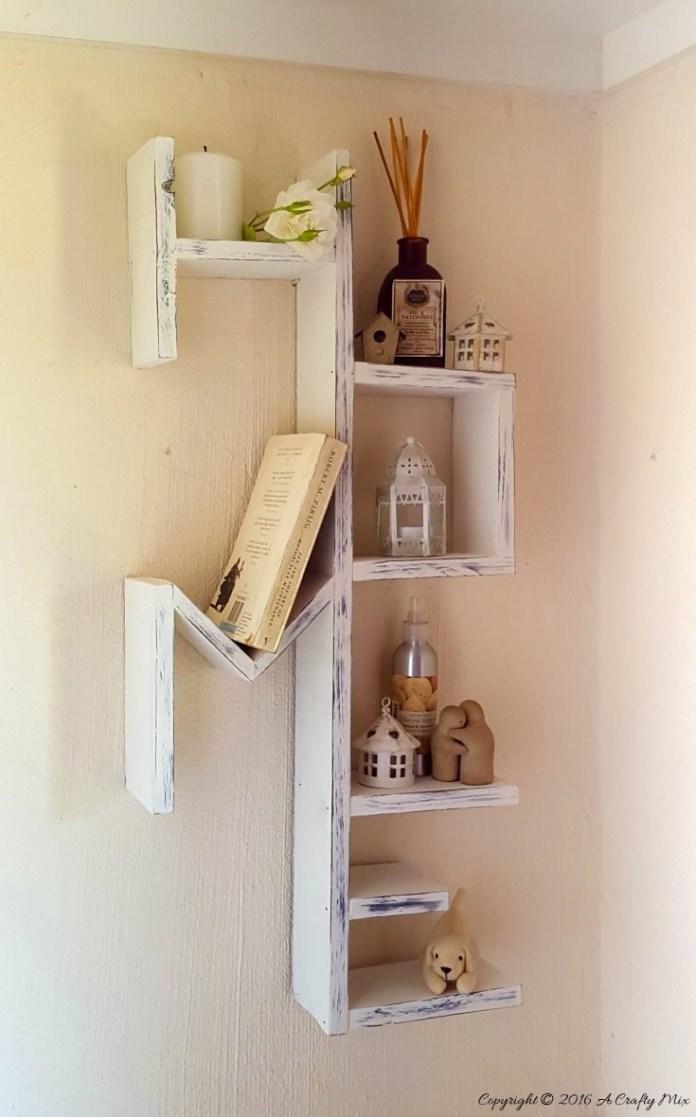 19 Custom DIY pallet HOME shelf Simphome com