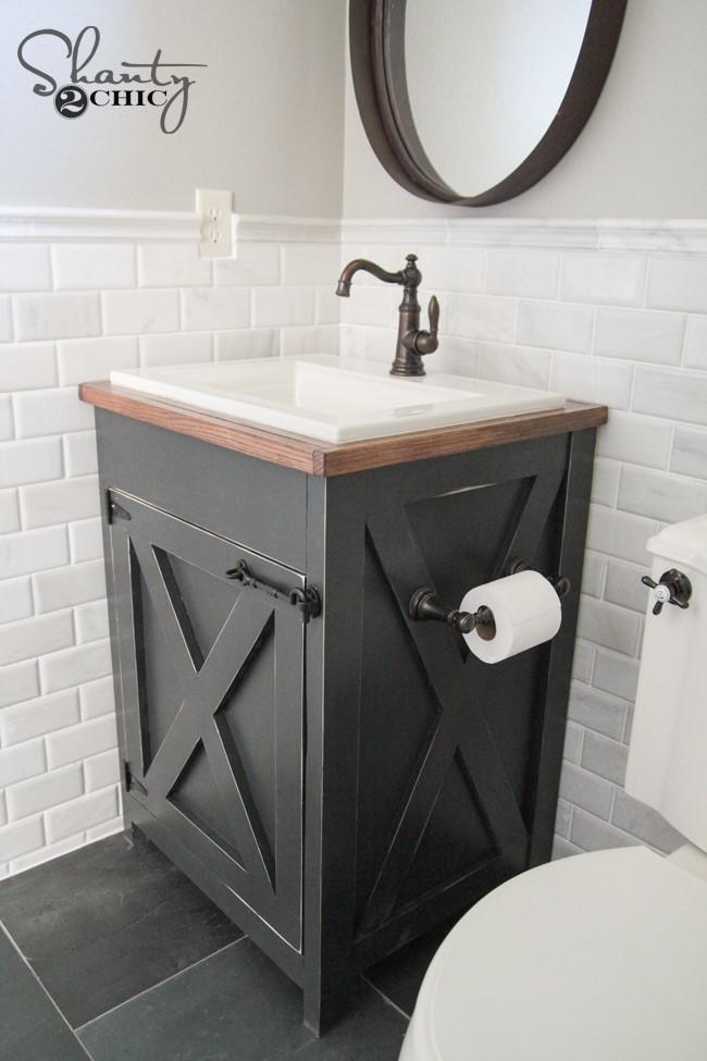 5 Farmhouse Style Bathroom Vanity Simphome com