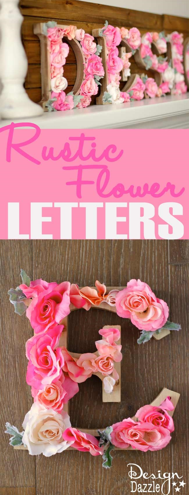 7 Letters with Flowers Simphome com