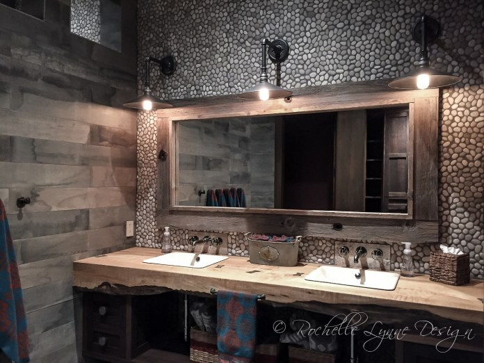 6 Pebble Tile Accent Wall Simphome com