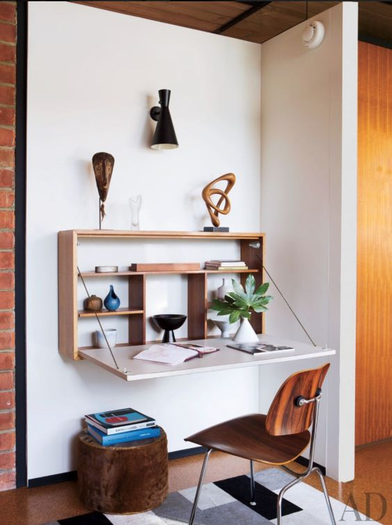 19 wall mounted desks home office simphome architecturaldigest