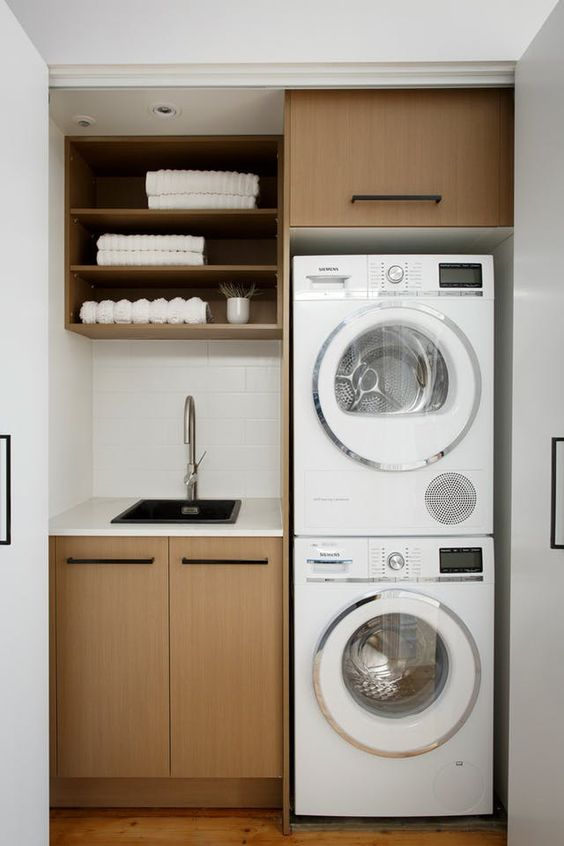 33 Small Laundry Room Remodeling and Storage Ideas Simphome