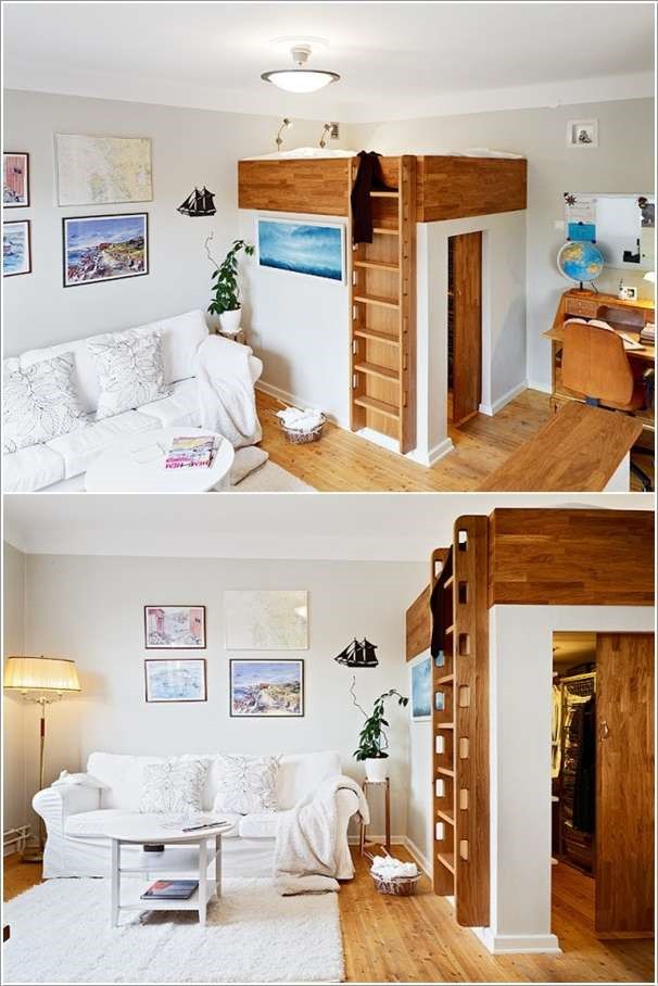 1 Merge The Bed with The Walk In Closet via simphome