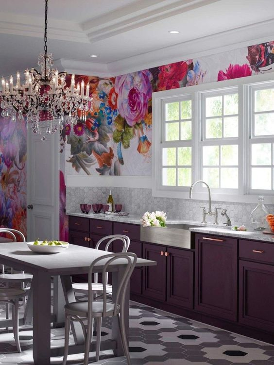120 1 Trend Alert Flower Power and BIG FLORALS in Interiors via Simphome