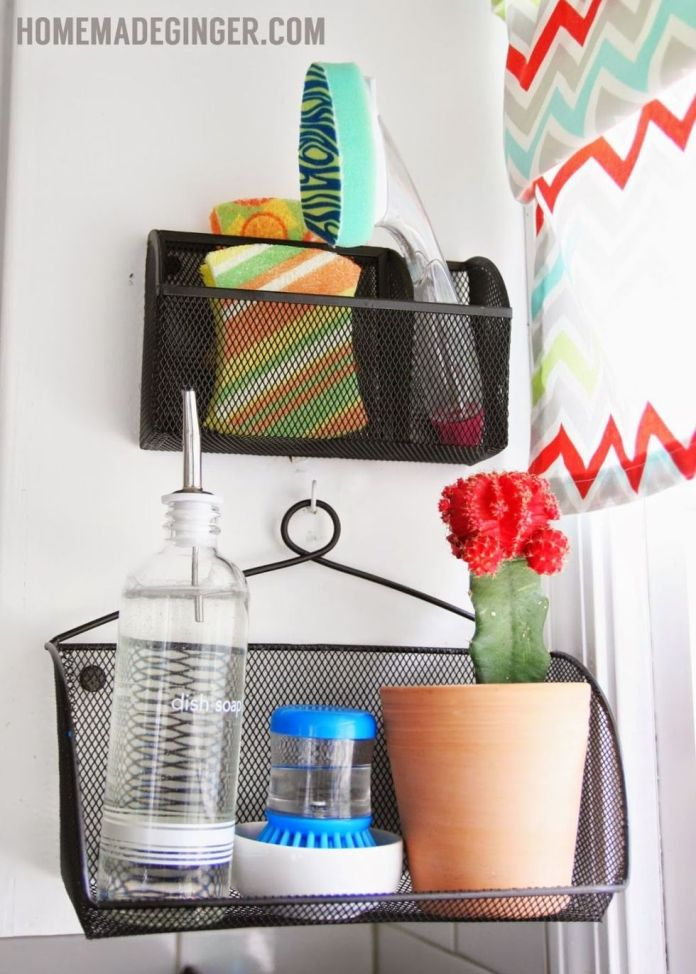 153 Repurpose Your Office Supply Organizers via simphome