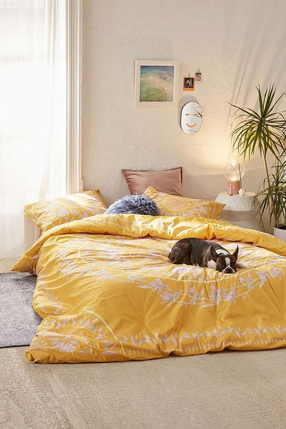 22 Iris Sketched Floral Comforter Simphome