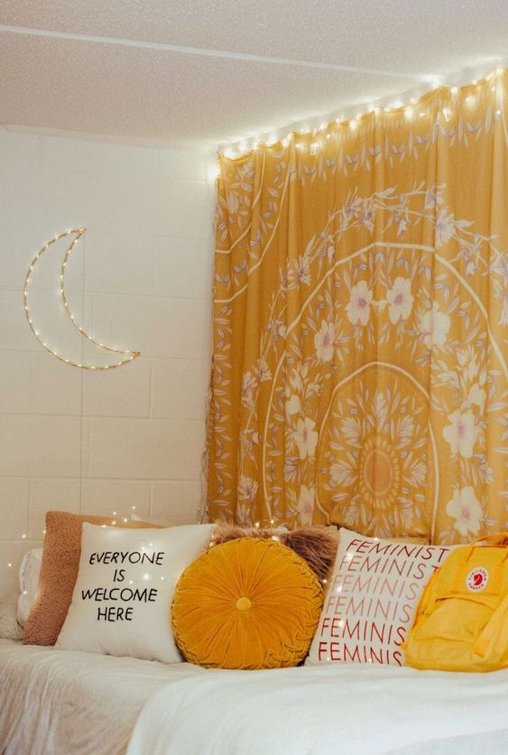 23 Yellow bedroom idea Simphome 2