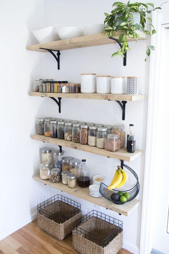 276 Essentials to Go for Rustic Farmhouse Kitchen Ideas via simphome