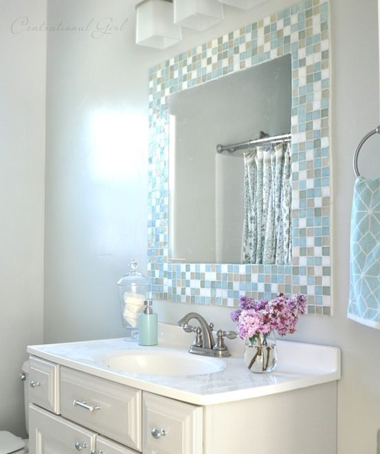 4. Tile Mirror Frame
