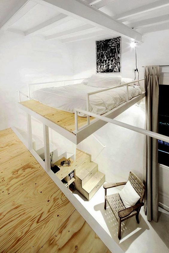 61 Little apartament in Barcelona by Arquitectura G Simphome