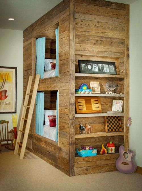 79 Awesome wooden bunk beds for kids room Simphome