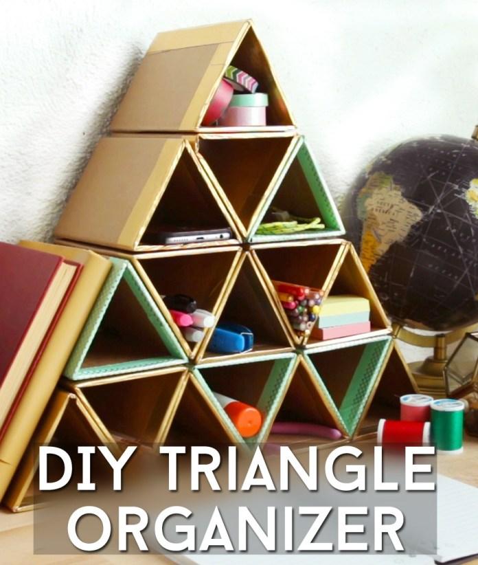 2 Easy Triangle Organizer via simphome