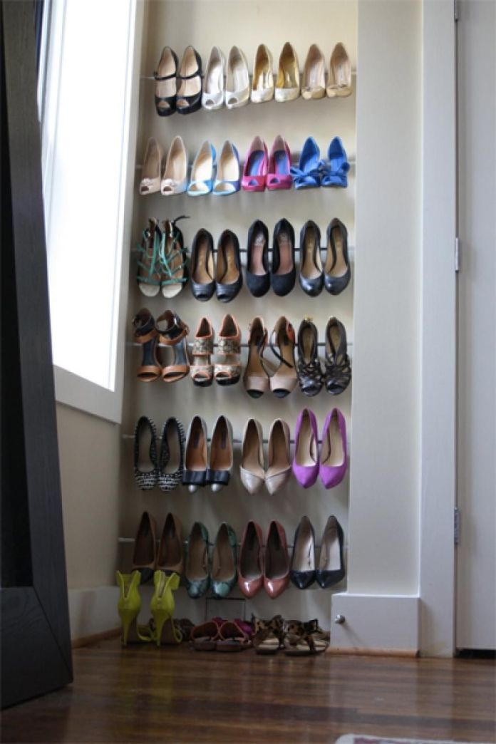 2 Space Saving Shoe Storage via simphome