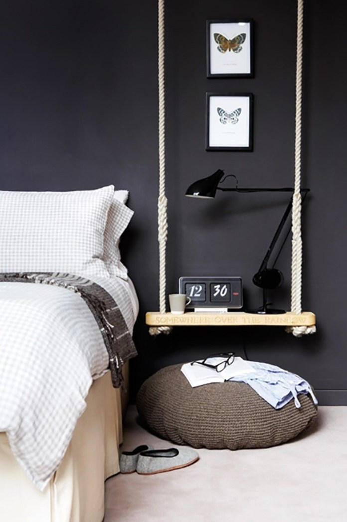 3 Hanging Nightstand via simphome