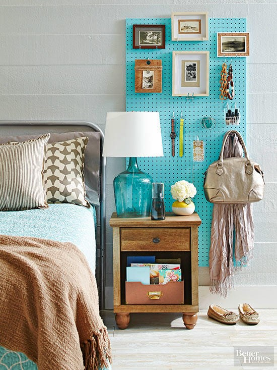 7 Brilliant Pegboard Storage Idea via simphome