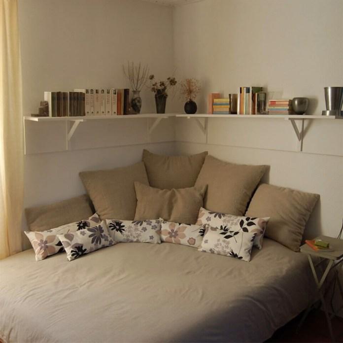 7 Shove Your Bed Against A Corner via simphome