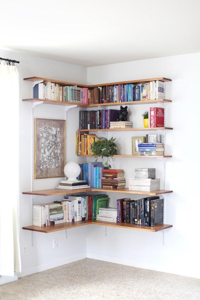 7 Corner Shelves via simphome