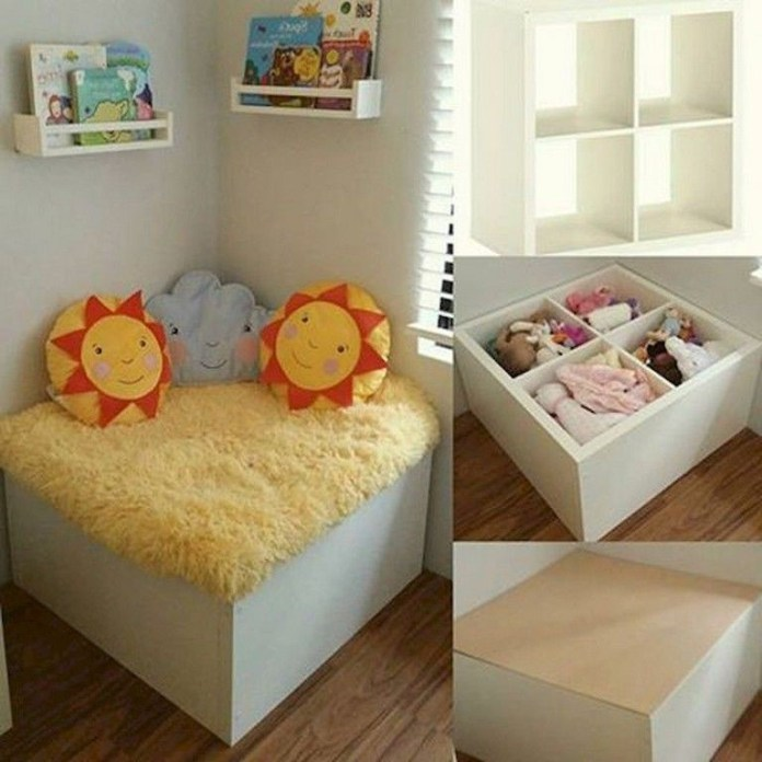 4 Turn Cubies into a Corner Seat via simphome
