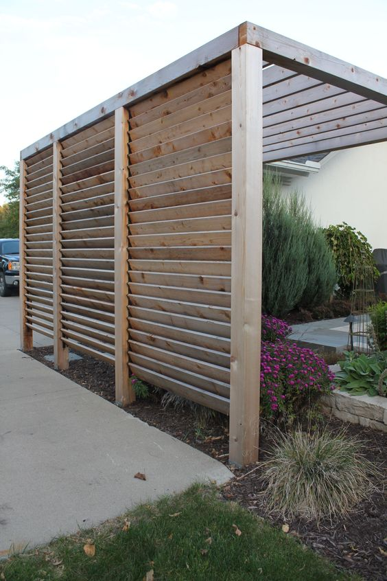 outdoor privacy screen panels via simphome