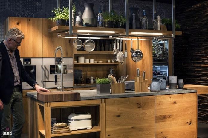3 Low Hanging kitchen Shelving idea via Simphome