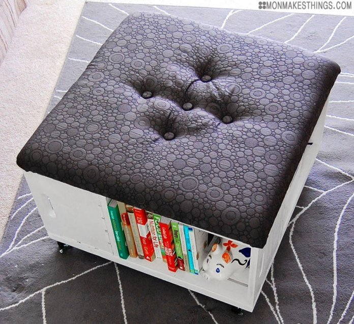 6 Ottoman with Extra Storage via Simphome