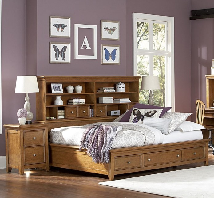 6 The Bed with Ultimate Storage Design via simphome