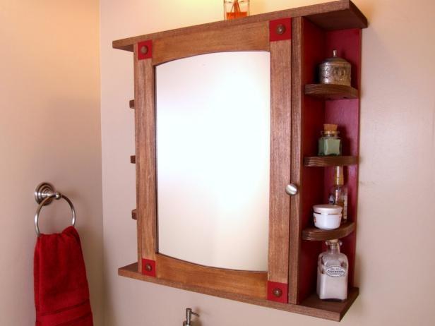 1. DIY Bathroom Medicine Cabinet via Simphome