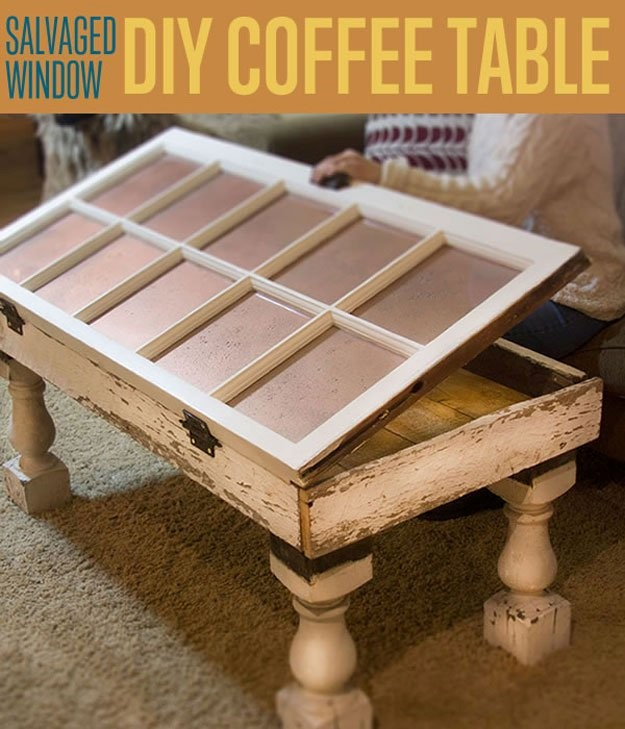 1. Window Coffee Table via Simphome