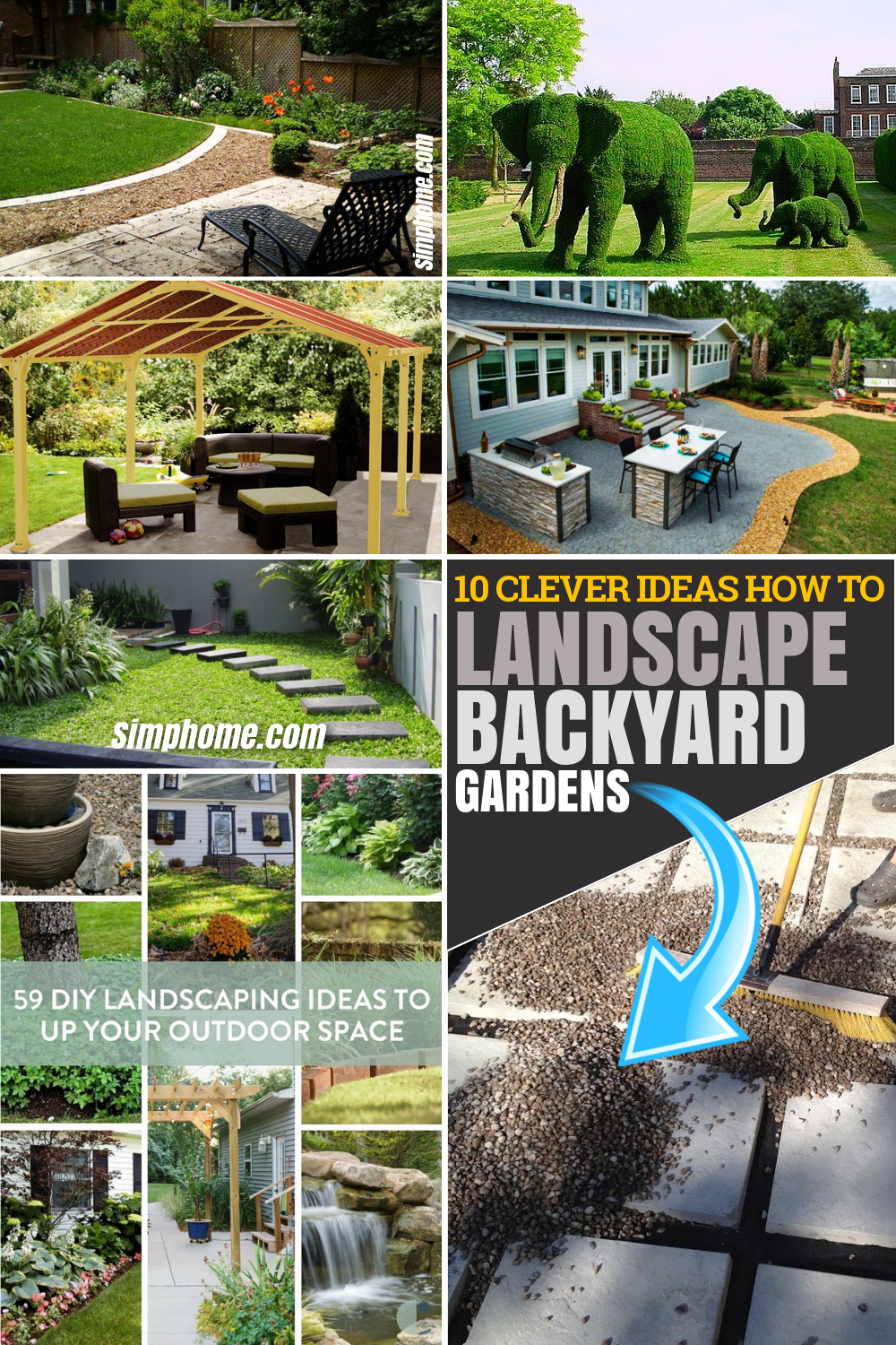 10 Clever Diy Ideas How To Landscape Backyard Garden Simphome