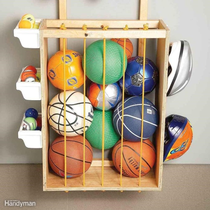 2. Tidy Up Balls by Creating Corral via Simphome.com