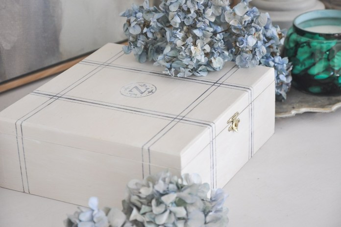 6. Chic Multipurpose Storage Box via Simphome