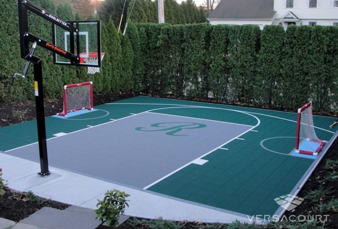 25.SIMPHOME.COM sport court backyard design ideas court backyard basketball