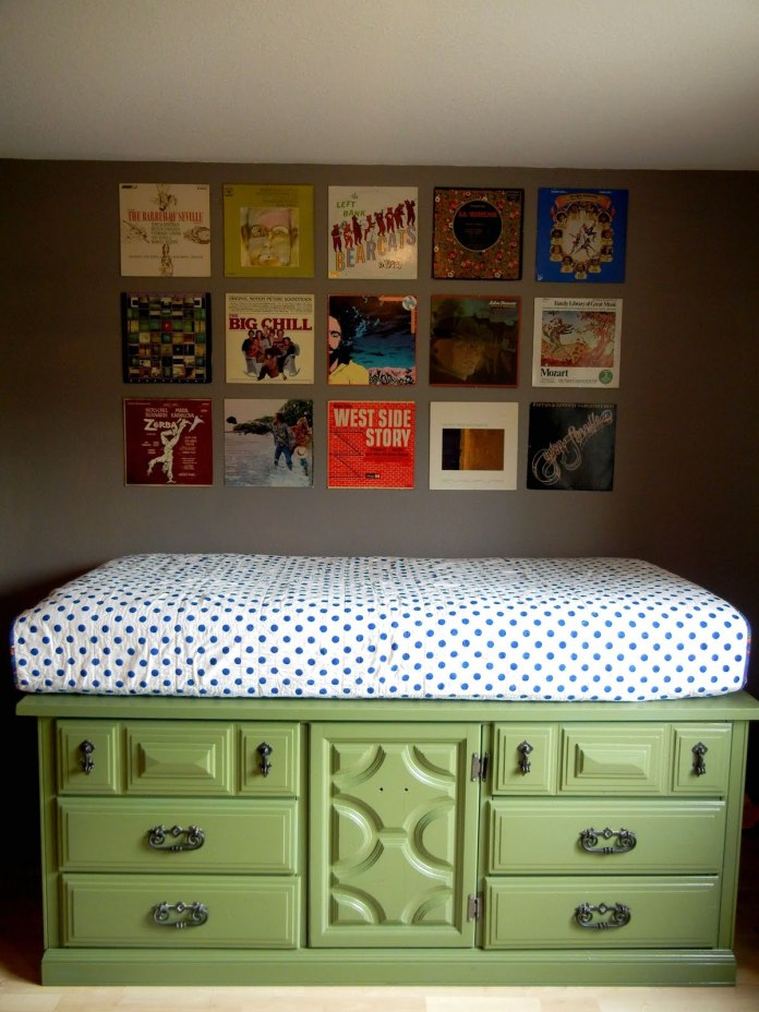 4. SIMPHOME.COM Upcycling Chest of Drawers into a Twin Bed