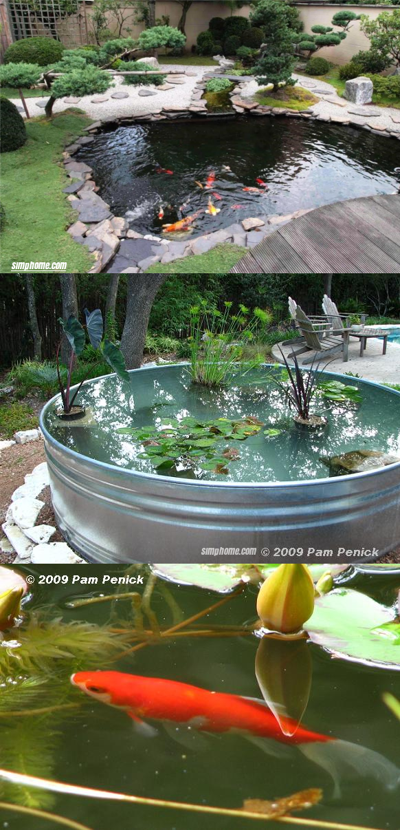 3.SIMPHOME.COM Entertain Yourself with A Fish Pond