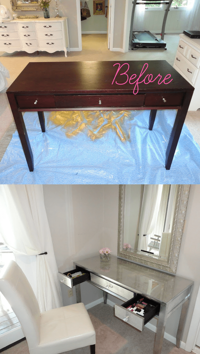5.Simphome.com Give an Old Table a New Life