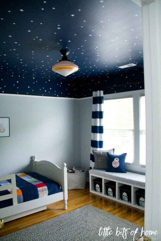 4.Simphome.com Bring Outer Space in the Bedroom 2