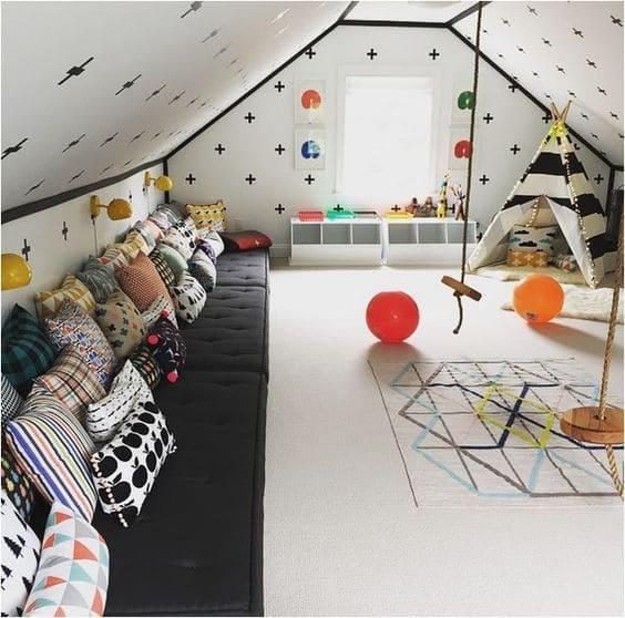 6.Simphome.com Attic Toddler Bedroom 2