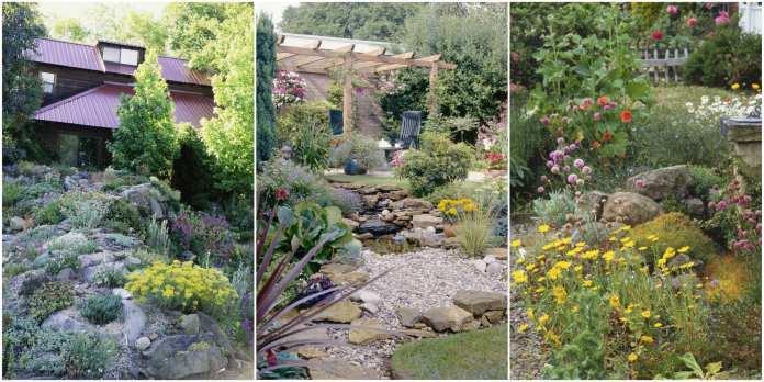 Simphome.com 6 best rock garden ideas yard landscaping with rocks
