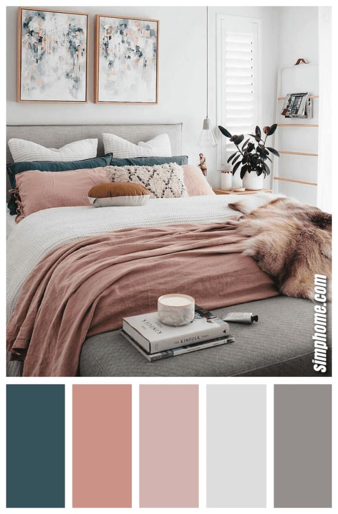 Simphome.com A best bedroom color scheme ideas and designs for 2020