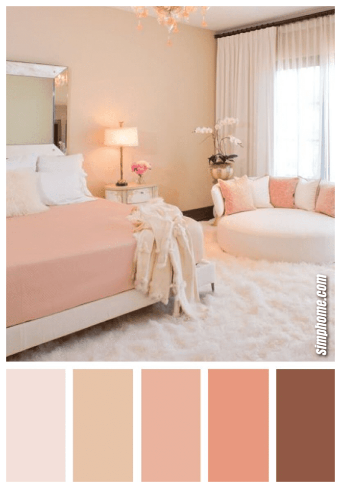 Simphome.com A gorgeous bedroom color scheme ideas to create a magazine worthy in bedroom