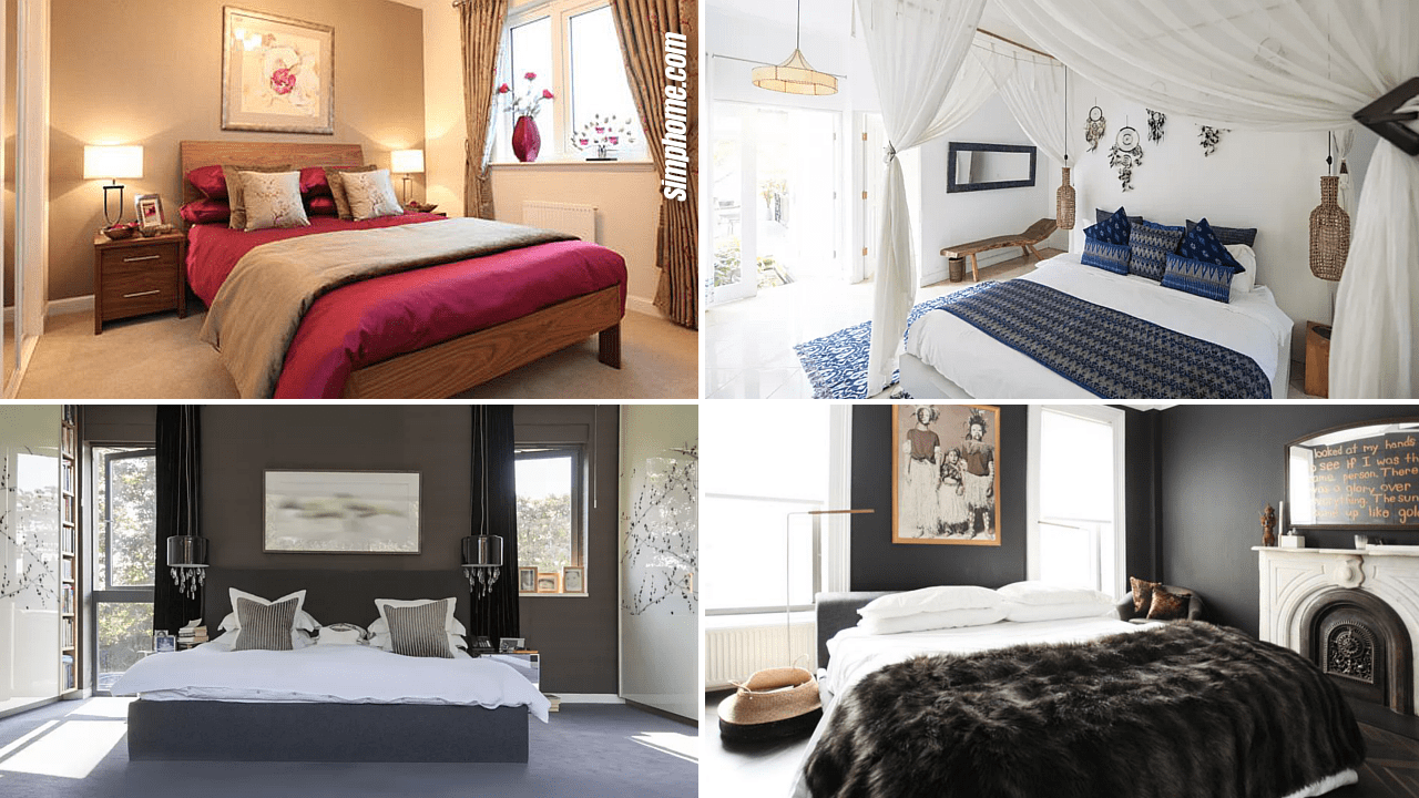 10 Modern Small-Bedroom ideas for New Couples - Simphome on Ideas For Small Rooms  id=32706