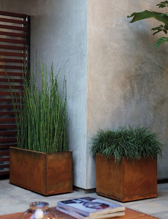 3.Simphome.com Use Planters or Boxed in Areas 1