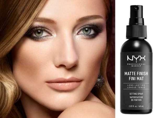 NYX Makeup Setting Spray- Matte Finish | Simple.mu
