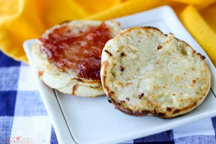 homemade English muffins-4