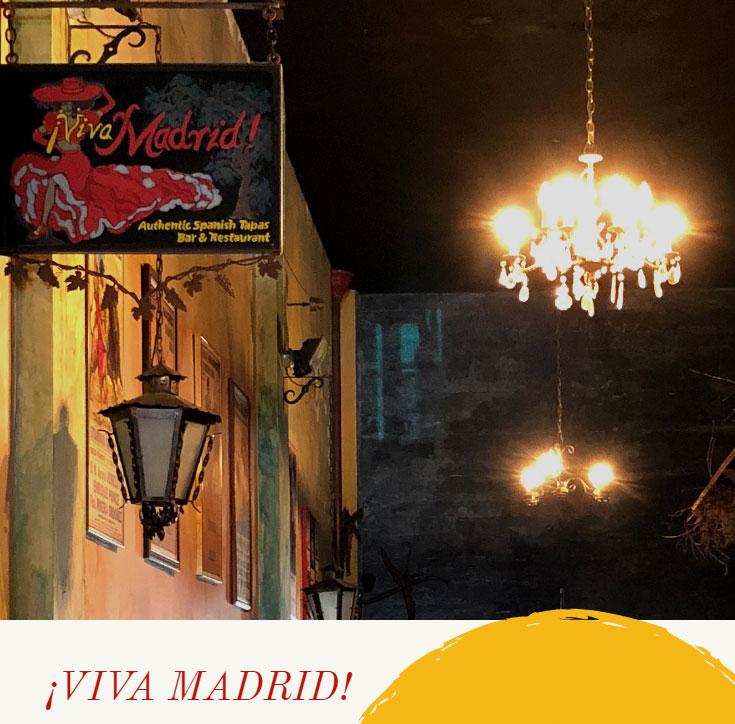 Viva Madrid Claremont Ca Simple And Sweet Food