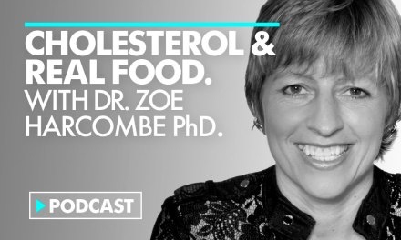 Cholesterol advice is Boll*cks. Eat Real Food.