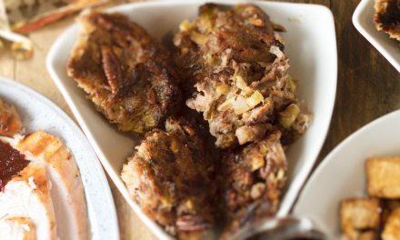Pecan, pork and sage stuffing