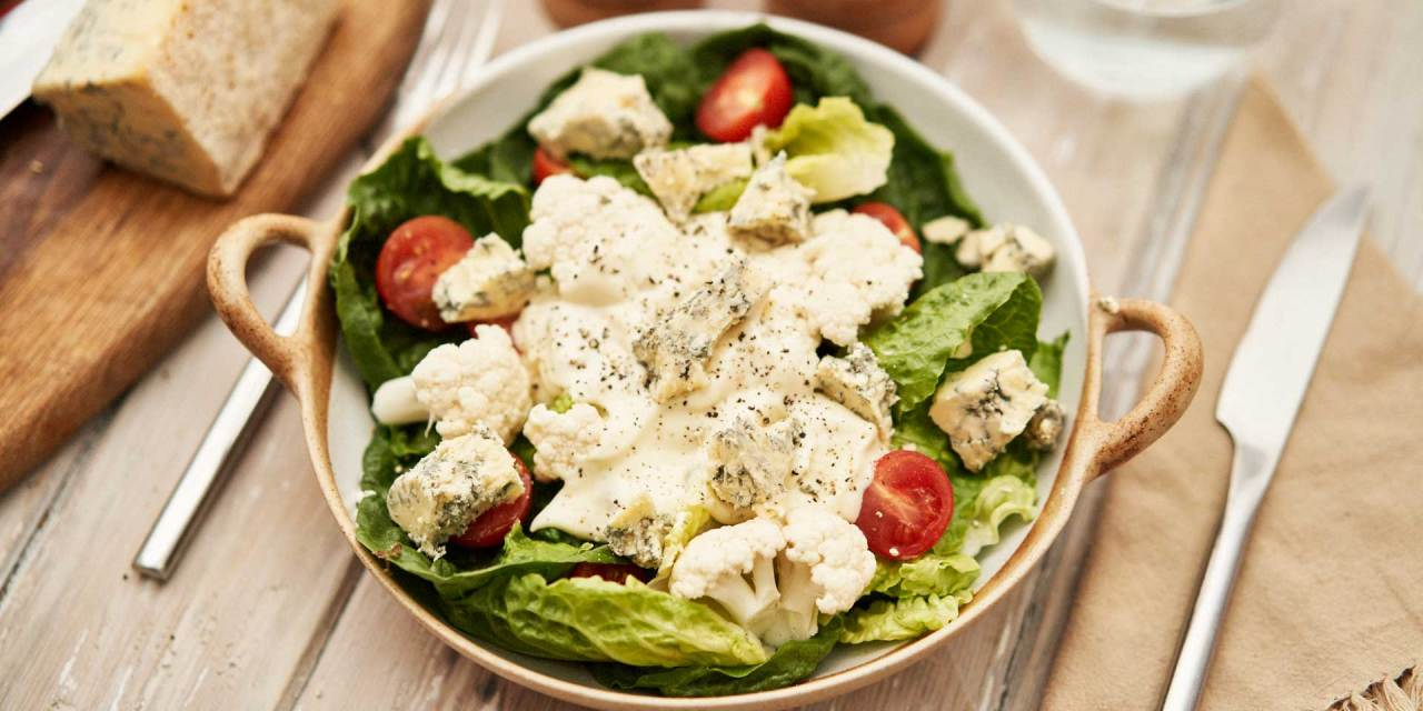 Double Blue Cheese Salad