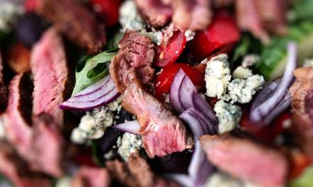 Ribeye Steak and Stilton Salad