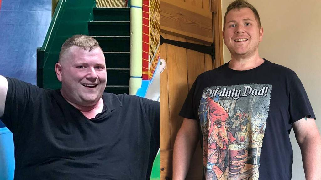gordon before and after simple as fat weight loss program